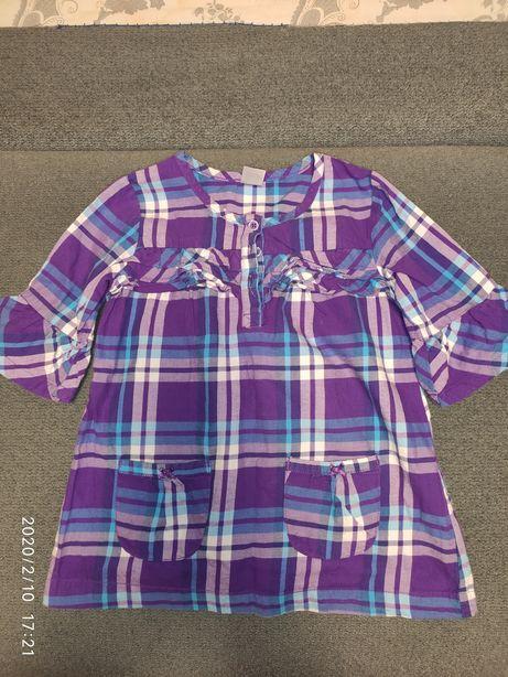 Рубашка - платье Carters на 2-4 года