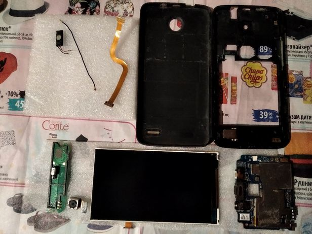 Мобильный телефон Lenovo A820 на запчасти