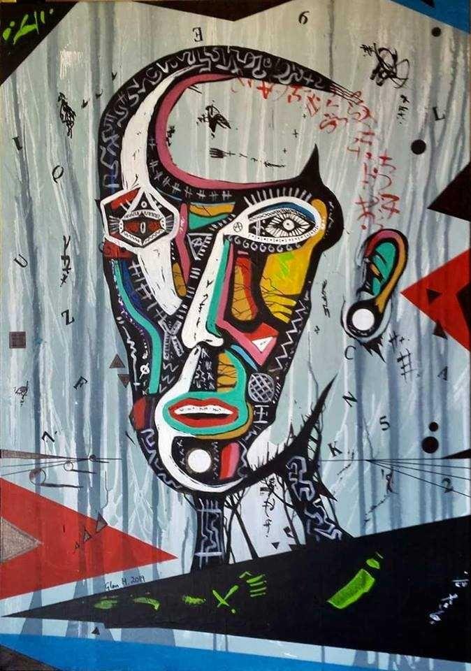 Pintura Acrílico em Tela