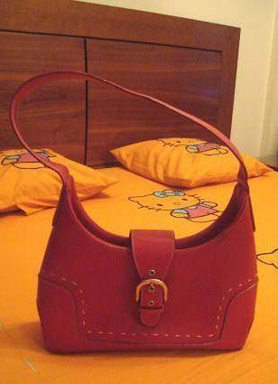 Bolsa / mala de senhora vermelha