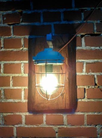Lampa na desce..