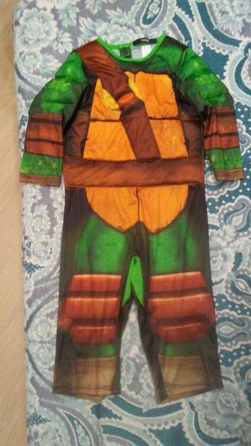 Pajac, kostium, przebranie, strój żółw
