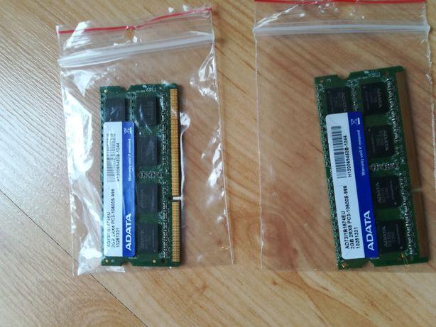 Pamięć 2x 2GB 2RX8 PC3-10600S do laptopa