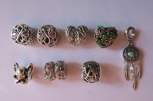 Charms do bransoletki Pandora srebro 925 koraliki charmsy koralik