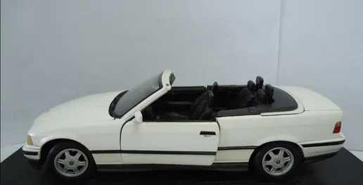 carro de coleção BMW 325i cabrio escala 1/18, não tem