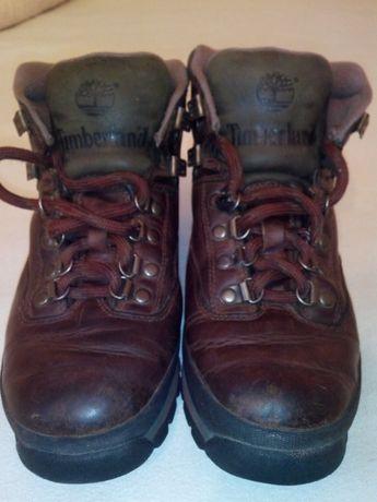 Timberland подростковые кожаные сапоги, ботинки р.37,5 б/у.