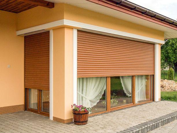 Защитные ролеты двери, окна. Гаражные роллеты. Роллетные ворота