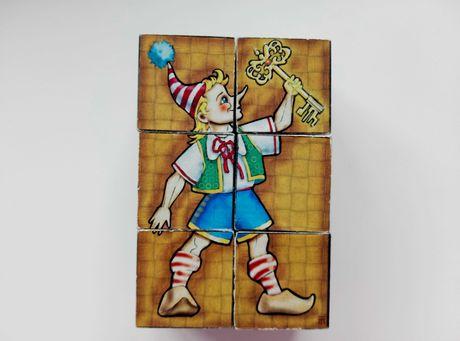 Кубики со сказками, 6 шт.