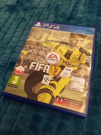Gra FIFA 17 na ps4