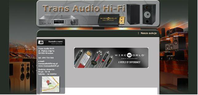 Kable różne rodzaje i długości od kilku cm dla hobbistów Trans Audio