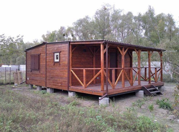 Дачные каркасные деревянные дома