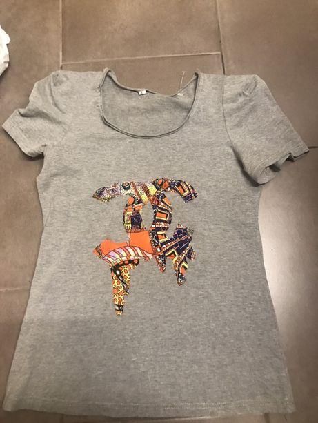 Koszulka Chanel bufki