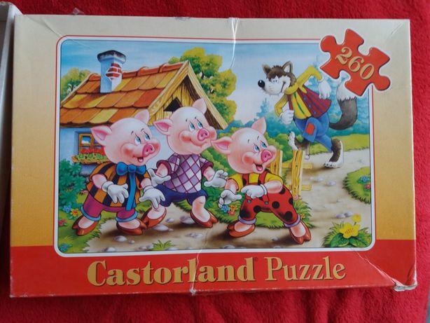 """Puzzle """"Trzy świnki"""""""
