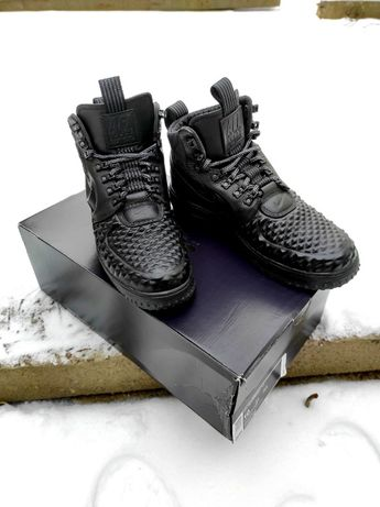 Nike Lunar Force 1 Duckboot '17 Black 44 (28)