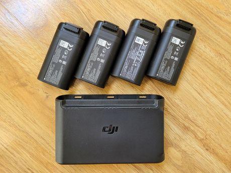 Baterias e carregador hub Dji Mini e Mini 2