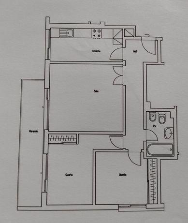 Apartamento T2 Vale das Flores