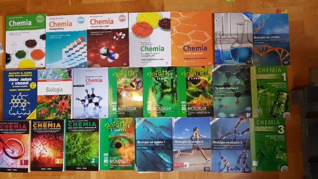 książki do nauki biologii/chemii matura