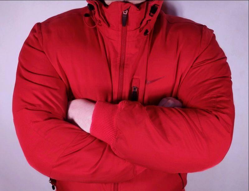 Куртка Бомбер Nike Alliance Jacket Hooded (L-XL) Осень Зима пуховик Миргород - изображение 1