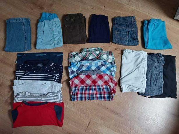 Zestaw ubrań dla chłopca 74/80