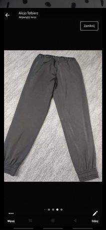 Dresy spodnie chłopięce rozmiar 128 puma