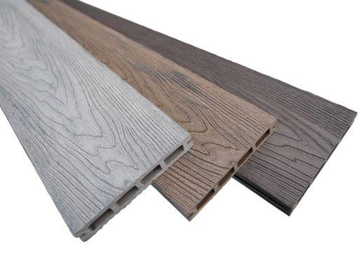 Deska kompozytowa, deska na taras, struktura drewna, montaż