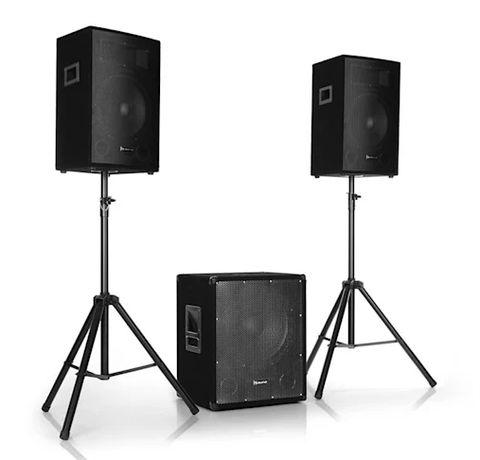 """Пассивные качественные колонки Auna Cube 300 Вт.30 см(12"""") Есть разные"""