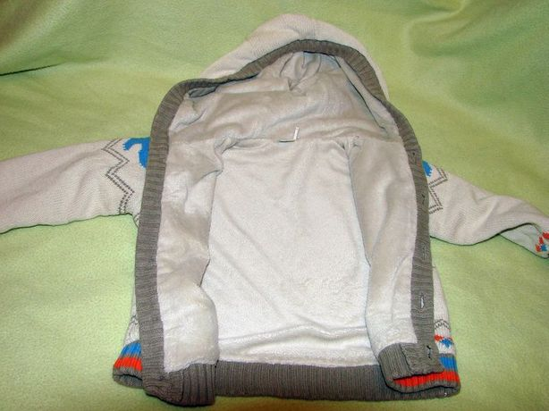 Bluza/Sweterek / kurtka chłopięca r. 86