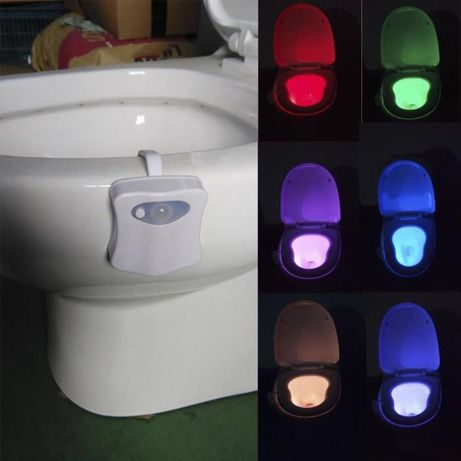 Подсветка для унитаза ледLed toiletLight светильник с датчикомДвижения
