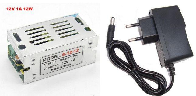 Adaptador caregador transformador c/fio e s/fio 5v 2A, 12V 1A, 2A, 3A
