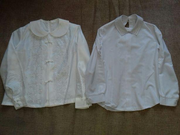 Блуза с длинным рукавом 134 см