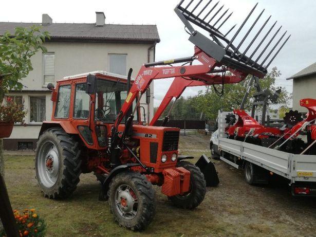 NEW Ładowacz czołowy MTZ Belarus 800kg C385 902dowóz montaż WOL-MET
