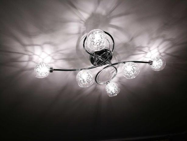 Lampa dekoracyjna oświetleniowa wewnętrzna do pokoju salonu luksusowa