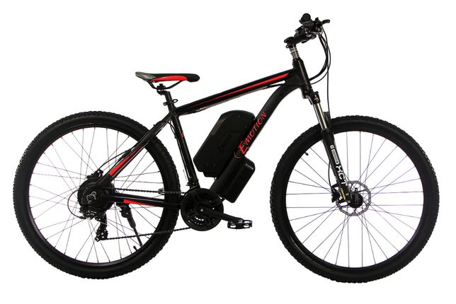"""Электровелосипед MTB 29"""" 36V 12Ah 500W цвет черно-красный"""