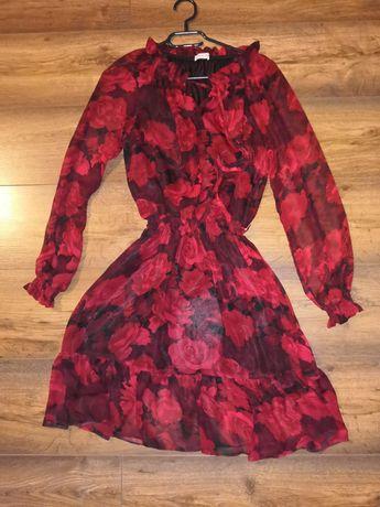 Sukienka w kwiaty rozmiar S M