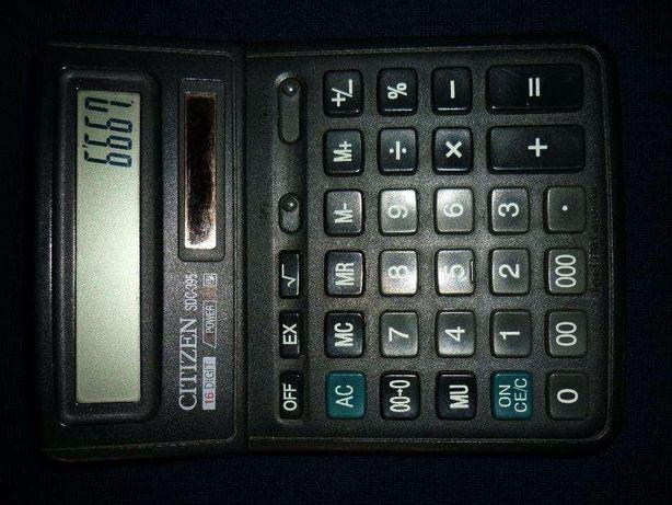 Продам Калькулятор CITIZEN SDC-395