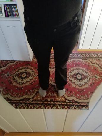 Czarne spodnie ciążowe 40/42