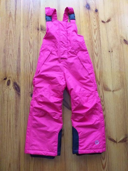 Spodnie narciarskie zimowe na szelki rozm. 98/104 Żyrardów - image 1