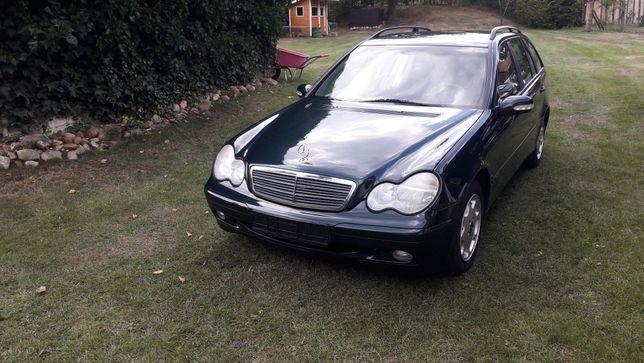 Mercedes c klasa 2.0 2001rok sprowadzony