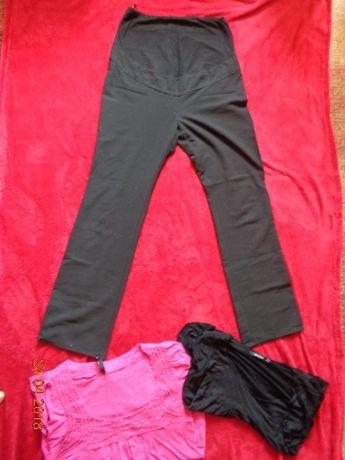 spodnie ciążowe Next rozmiar 40 gratis dwie bluzki