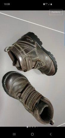 Clarks skórze wygodne buciki na wiosnę rozmiar 24