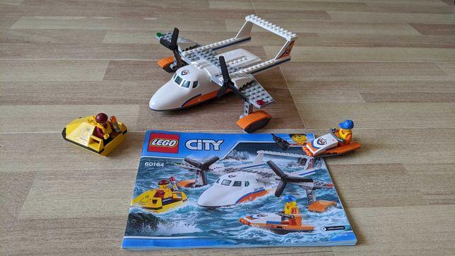 Lego City 60164 Спасательный самолёт береговой охраны