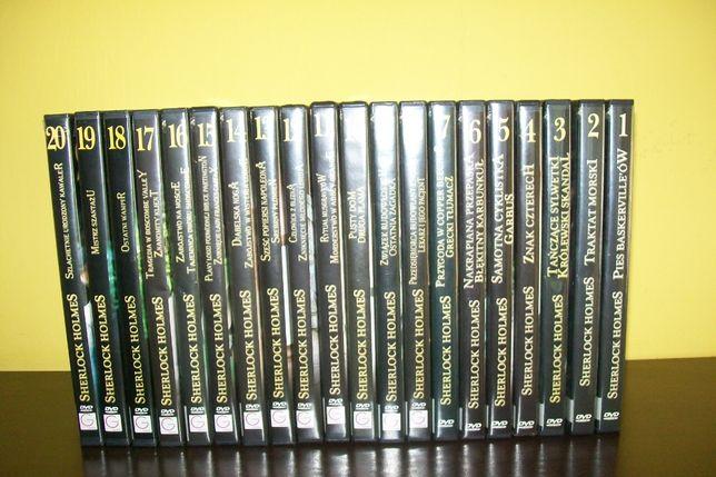 kolekcja Sherlock Holmes 20 DVD