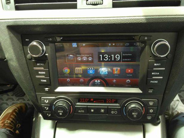 Auto rádio bmw E90, E91, E92, E93 GPS DVD Bluetooth usb wifi