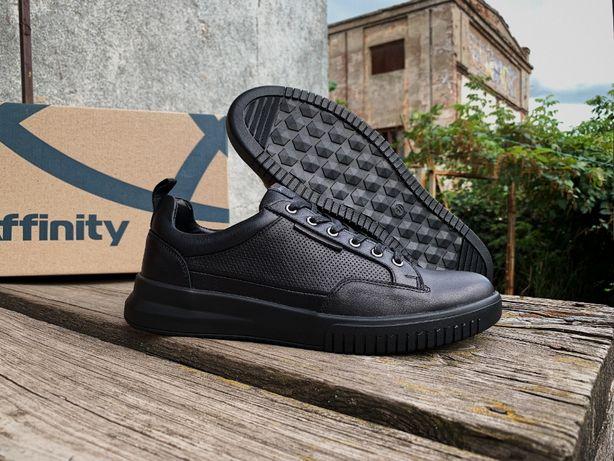 Мужские кожаные кроссовки туфли Affinity Натуральная кожа! демисезон