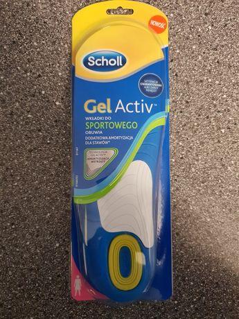 Wkładka do butów Scholl Gel Active od 38 do 42