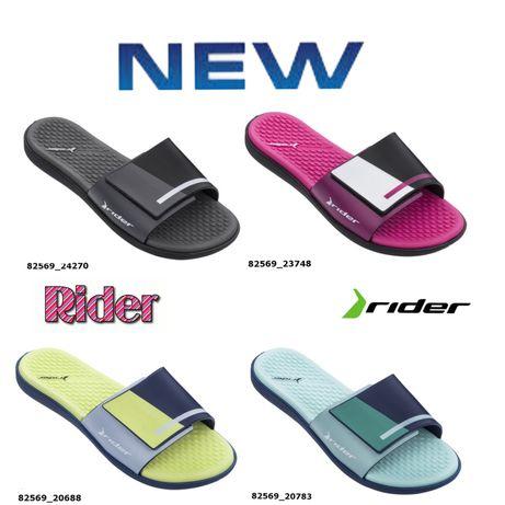 Женские шлёпанцы Rider(райдер) Pool Slide Fem модель 82569 на липучке
