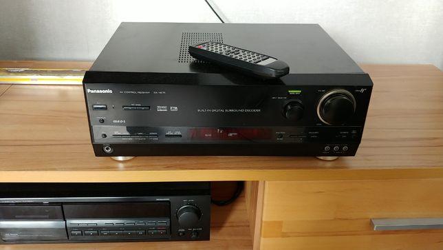 Amplituner Panasonic He-75 5x80w cyfrowe wejście