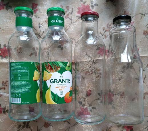 Пляшки та пляшечки різного призначення та об'єму