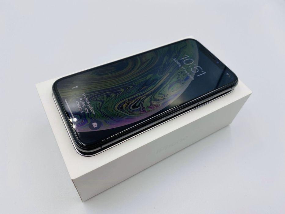 PROMOCJA • iPhone XS 64GB Silver • GWARANCJA 1 MSC • AppleCentrum Wrocław - image 1