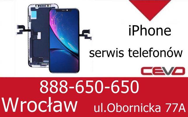 Szybka Ekran Lcd iPhone X serwis wymiana Cevo_pl Wrocław